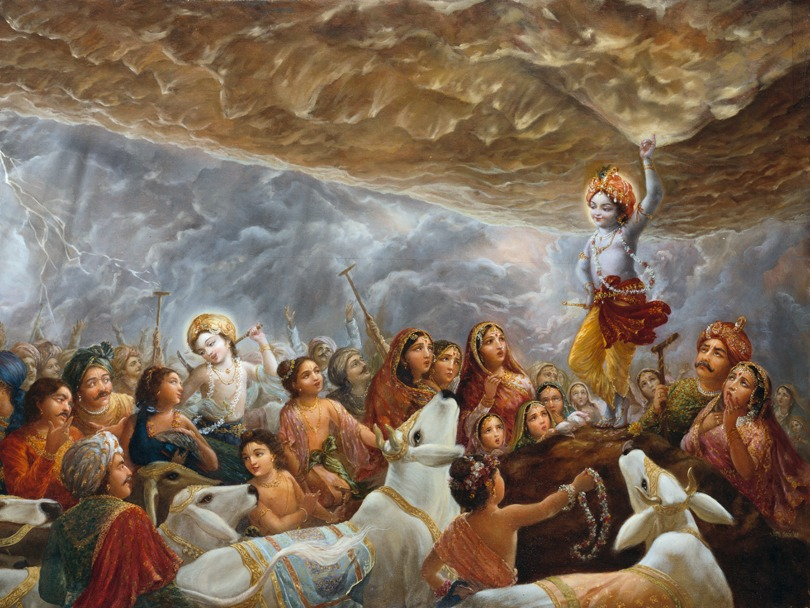Feliz Govardhana-Puja