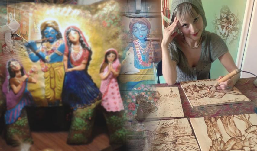 Entrevista con Asraya Bhakti Devi Dasi, el arte como herramienta de sanación