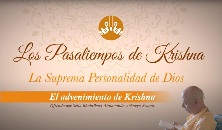 Los Bellos pasatiempos de Krishna, ahora en versión audiovisual
